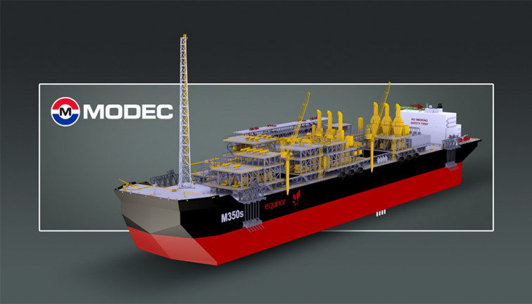 Bacalhau FPSO Illustration MODEC